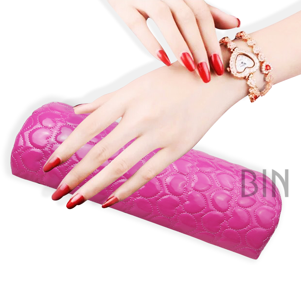 Hand Rests Collection Here New Soft Hand Cushion Pillow And Pad Rest Nail Art Arm Rest Holder Manicure Nail Art Accessories Pu Leather Brown Punctual Timing