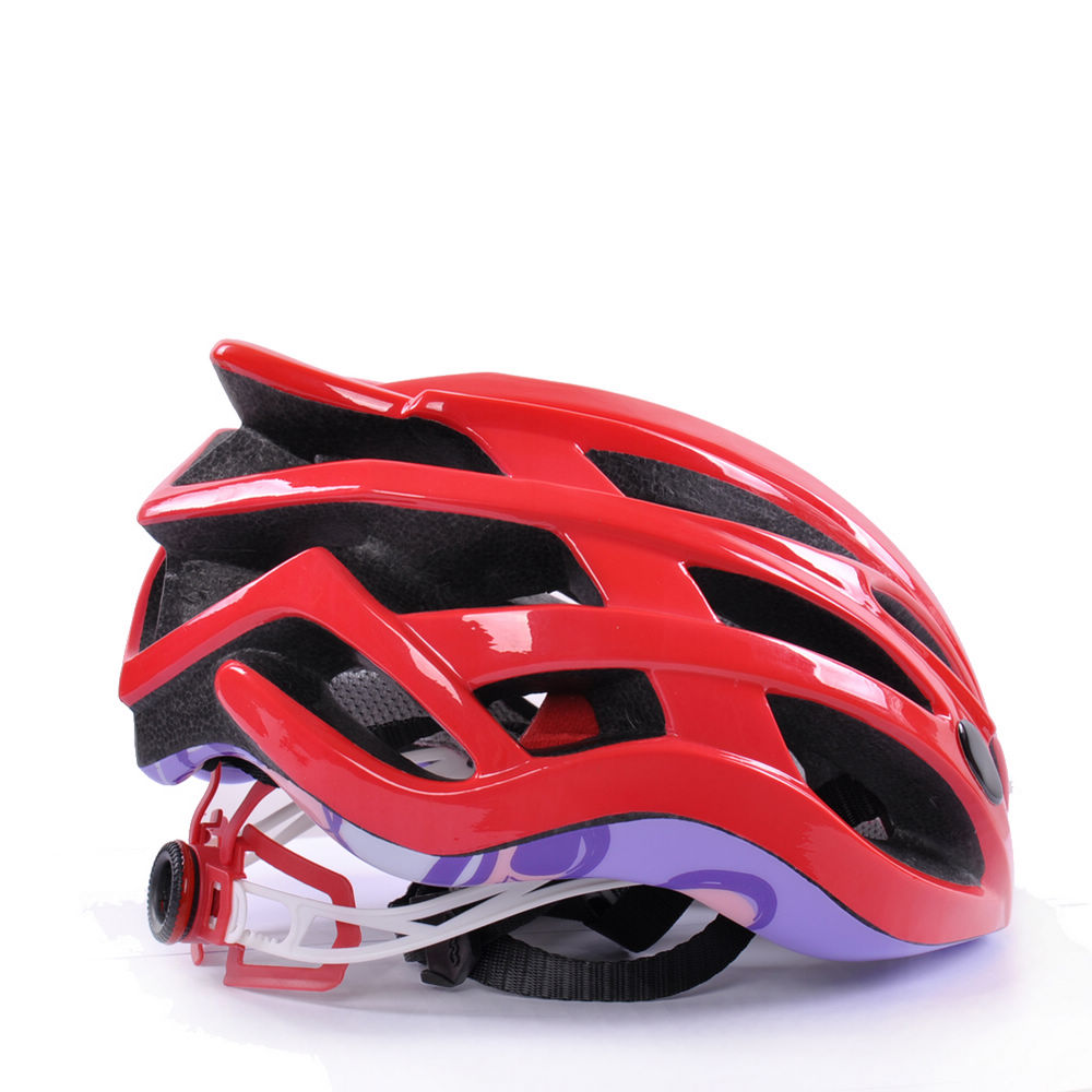 Custom light weight in-mold road racing bike helmet 5