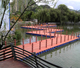 Steel walkway Floating Docks and Floating Deck Floating Pontoon Jetty with good price