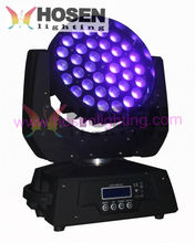 ใหม่ 36x18 w RGBWA + UV 6in1 ซูม LED Moving Head wash