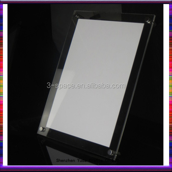 Anti Glare Acrylic Photo Picture Certificate Frame 12 X 8 A4