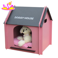Hot new product for 2015 Cute pet bed for dogs,luxury pet dog bed wholesale,High end handmade wooden dog bed W06F002C