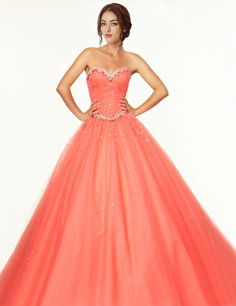 aa08323ee3 Get Quotations · 2015 New Style Hot Pink Quinceanera Dresses Sweetheart  Lace Up Back Beaded Bodice Party Dress