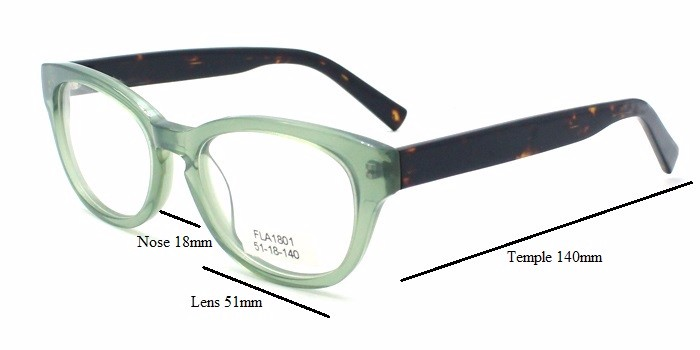 6688b8d9af Fashion Italian designer Acetate eyeglasses frames for young girls