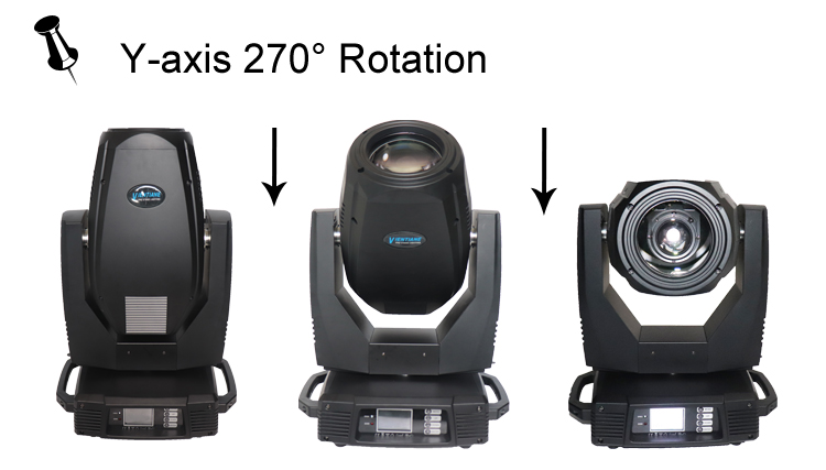 Promotional Moving Head Light 3 in 1 spot wash double prism clay paky sharpy 330w 15r beam