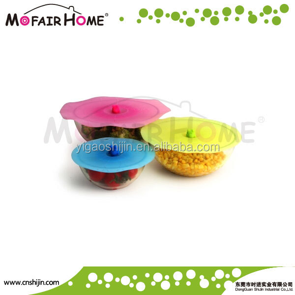 Stretch Silicone Suction Jar Lids