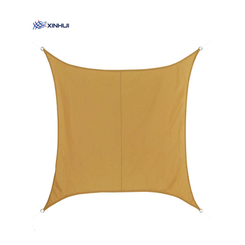 100% HDPE economic square wind wave sun outdoor sail shade