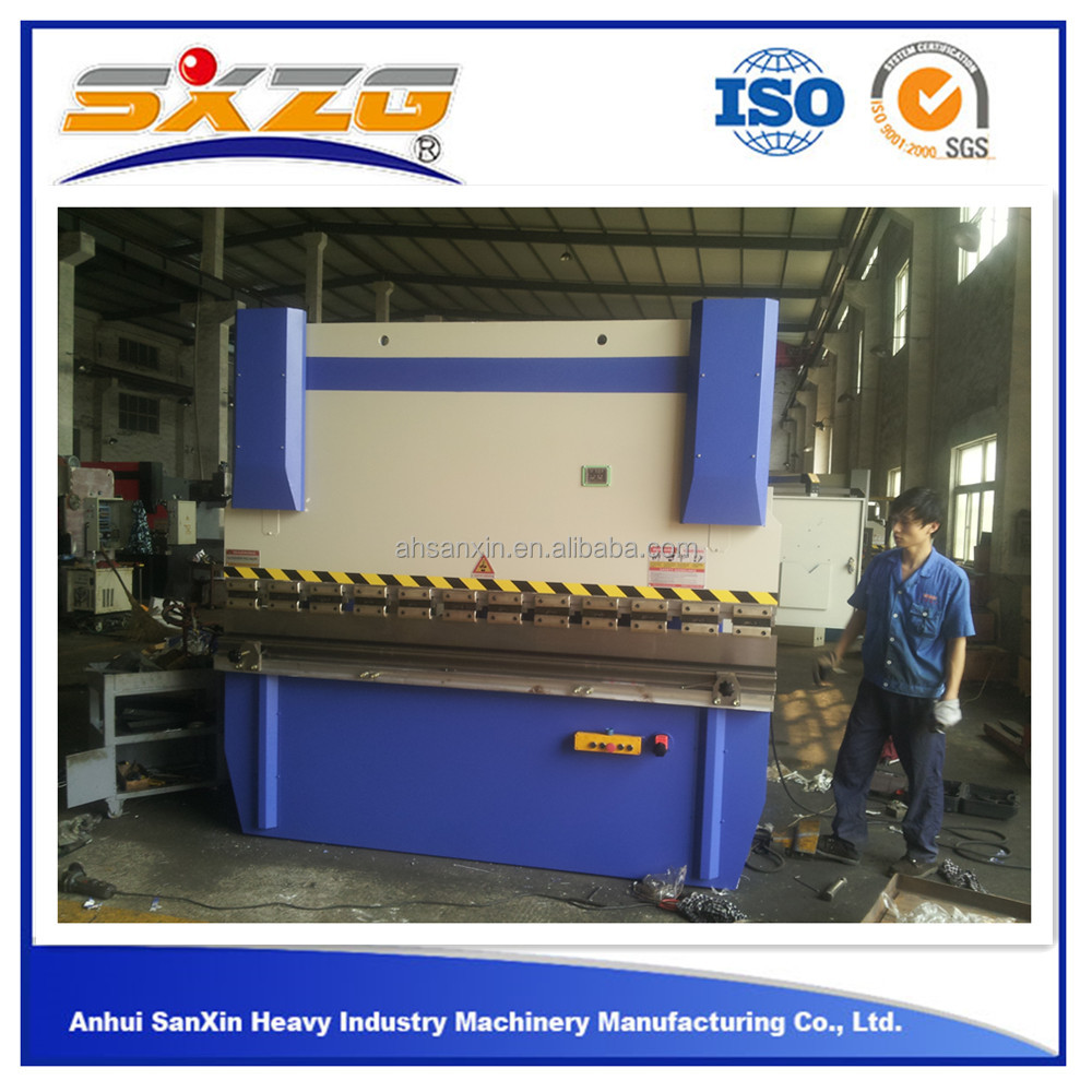 2016 simple cheap precision 30T 40Ton 1mm 2mm 3mm second hand plate auto small bending machine