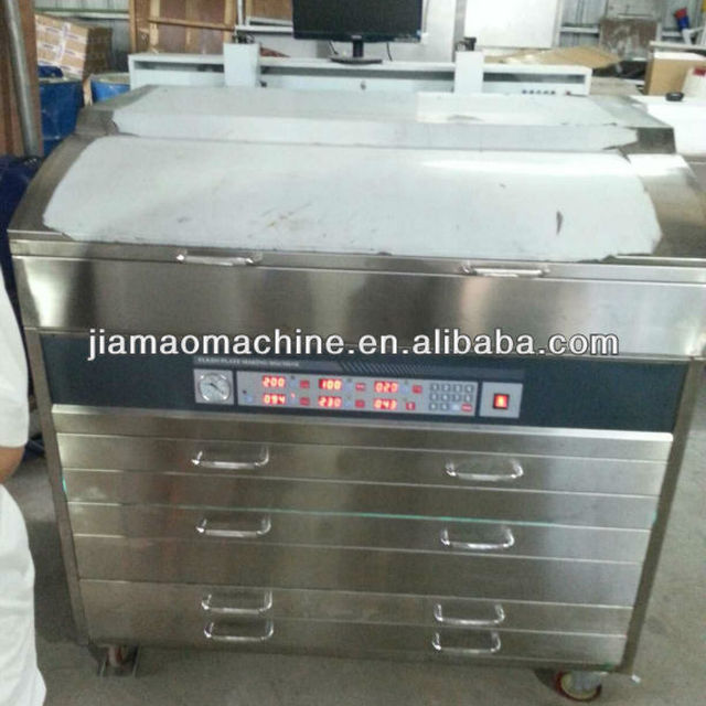 Good Quality Letterpress Printing Plate Making Machine Made In China