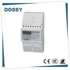 Smart Din Rail watt-hour three phase energy meter/electricity meter
