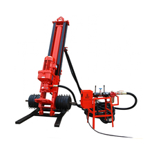 KQD150 Air DTH water well bore hole drilling rig