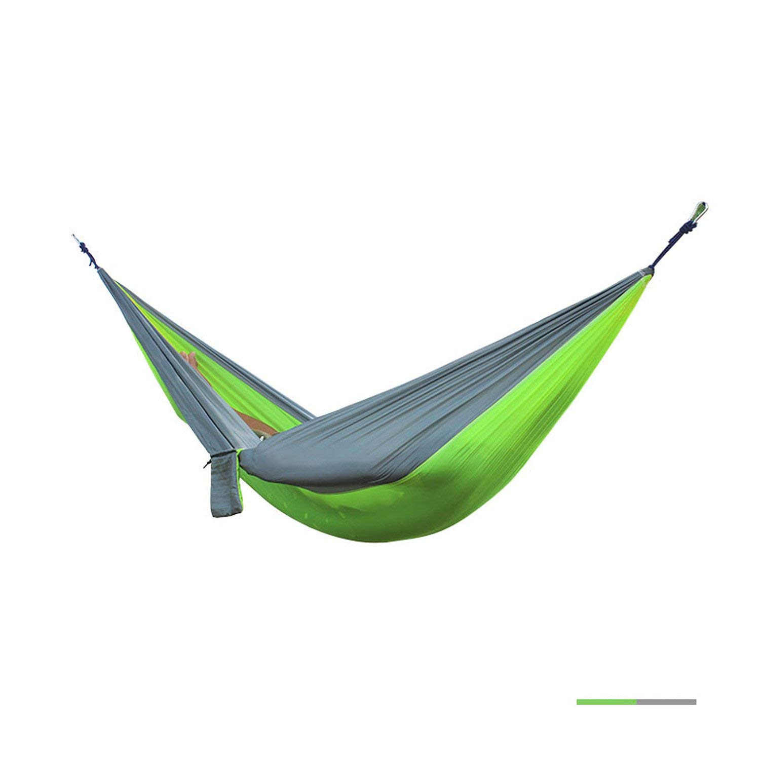 Outdoor Furniture Hammocks 12 Color 2 People Portable Parachute Hammock Camping Survival Garden Ultralight Hunting Leisure Hamac Travel Double Person Hamak Products Hot Sale
