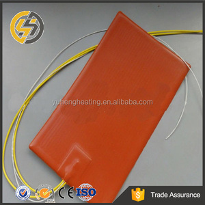 electric flexible silicone rubber heater pad 200 degree