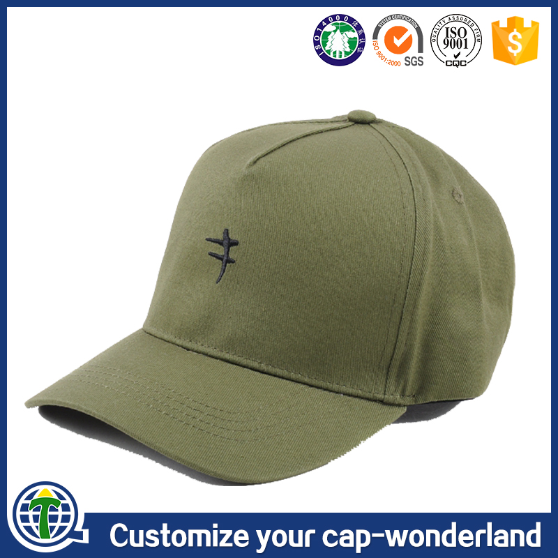 New 5panel embroidery baseball cap custom kids baseball cap era caps made in China