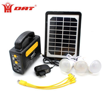 Home Application and 10w Load Power (W) mini solar lighting system