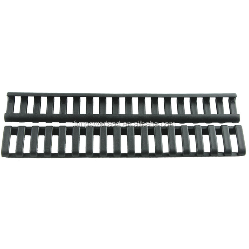 Funpowerland Handguard Weaver Picatinny Rail Black Color Ladder Cover