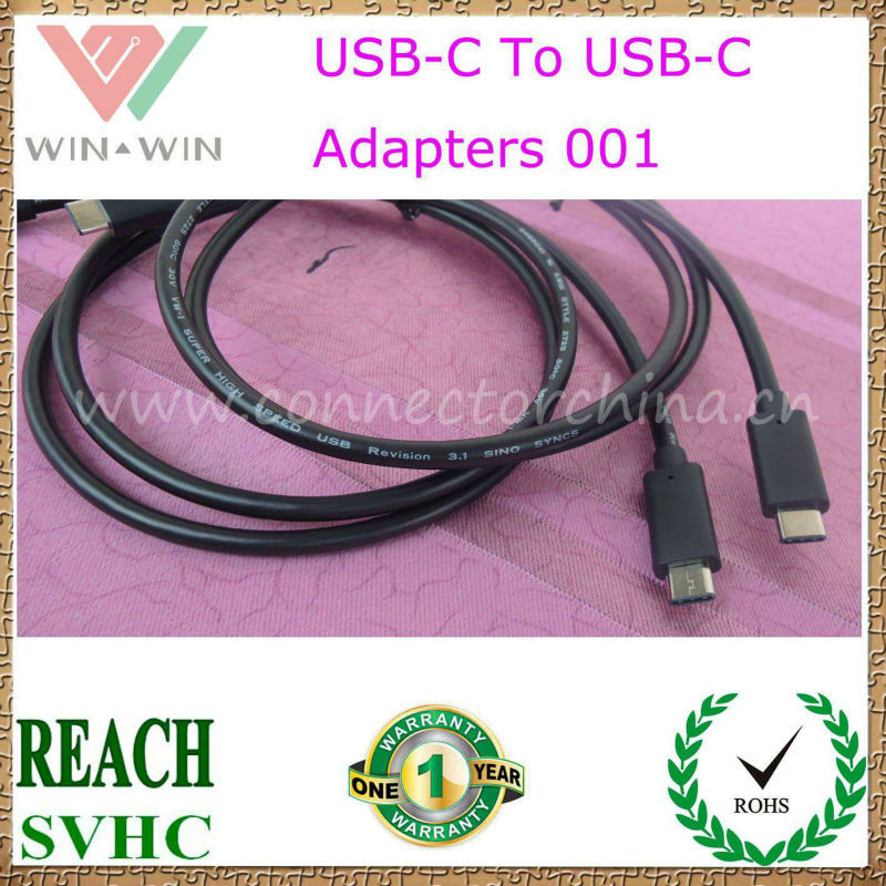 2015 Hottest Selling Reversible 3.1 USB-C To USB-C Cable 001