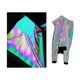 2019 EN471 glow in the dark retro-reflective fabric for safety Jacket