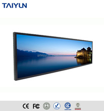 23.9 ''กว้าง LCD Digital Signage Display (1920*359)