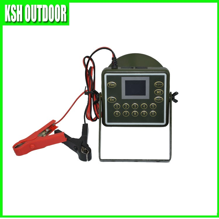 2017 waterproof 60W mp3 player bird hunting caller, electronic duck call