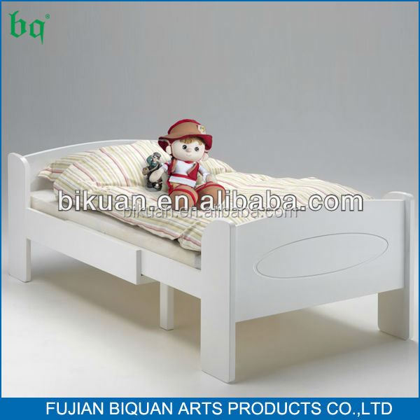 BQ white corner beds for kids