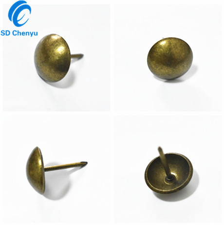 decorative nail heads for furniture. Alibaba Wholesale 6mm Antique Brass Metal Decorative Nail Heads Upholstery Pins Tacks For Furniture