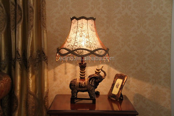 Beads decorative resin table lamp fabric table lamp elephant base beads decorative resin table lamp fabric table lamp elephant base 8051 aloadofball Images