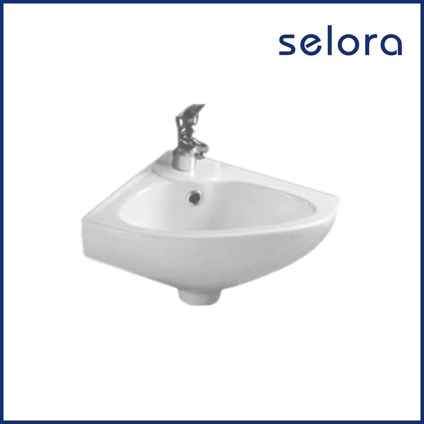 hot selling furniture bowl fancy wall hung corner small bathroom sink from chaozhou