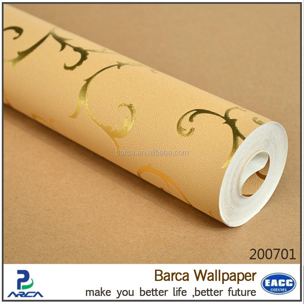 dekorativen metallischen silber goldfolie tapete glitter decke tapete goldenen tapeten tapeten. Black Bedroom Furniture Sets. Home Design Ideas