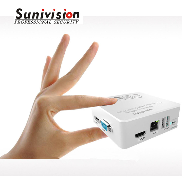 2017 New design new product Portable Support P2P 1080p 8CH 4CH Onvif Mini NVR