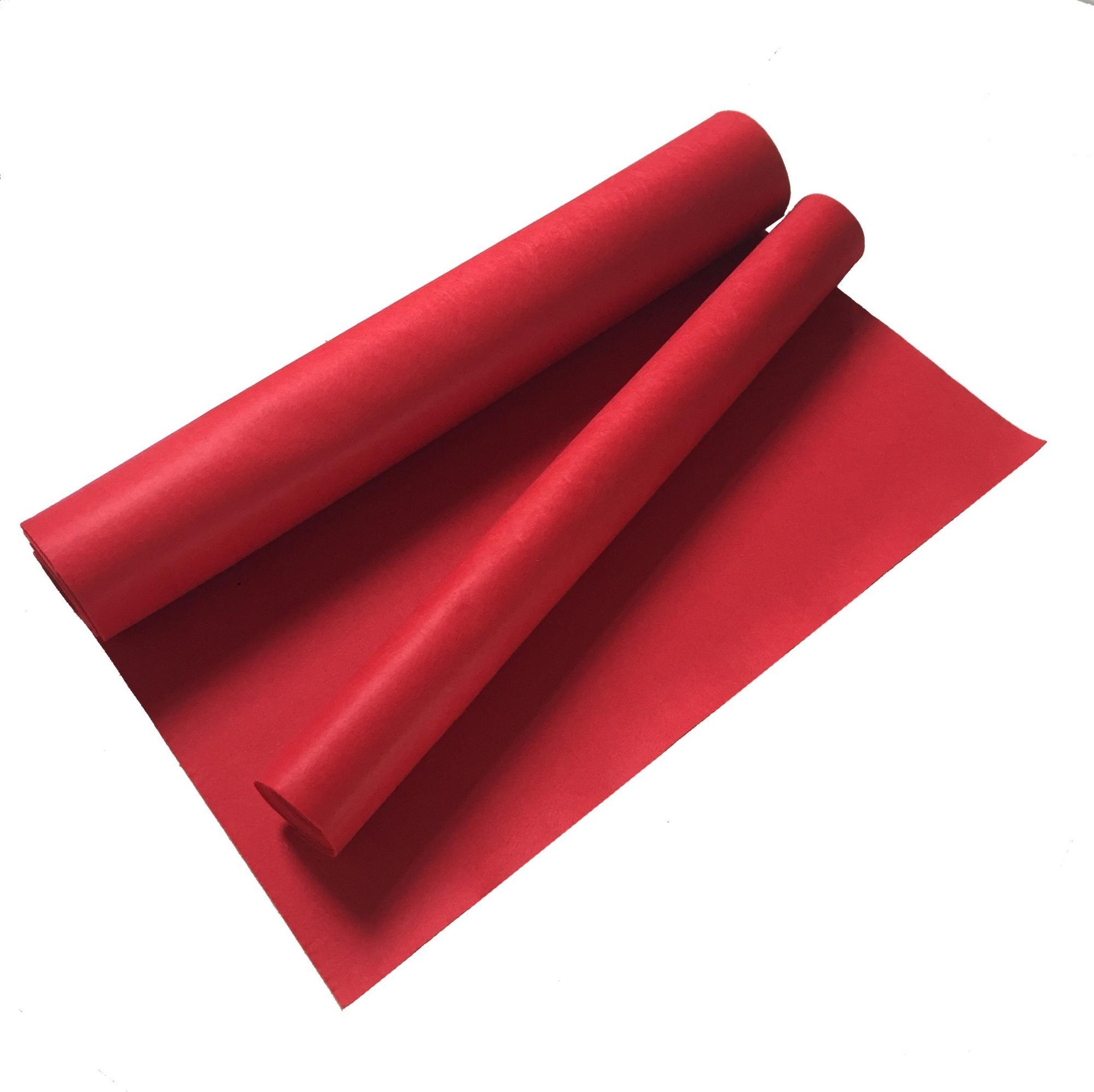 2019 ขายร้อน Wacoal Bra สีแดงพรม Pecan ที่กำหนดเองพรมนิทรรศการสีแดงพรม