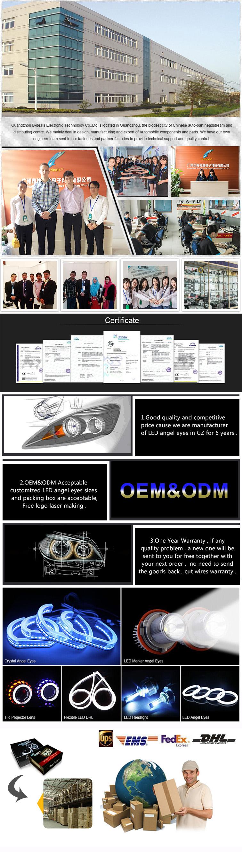 For Bmw E92 SMD 5050 Angel Eyes B.mw Japan Car Accessories
