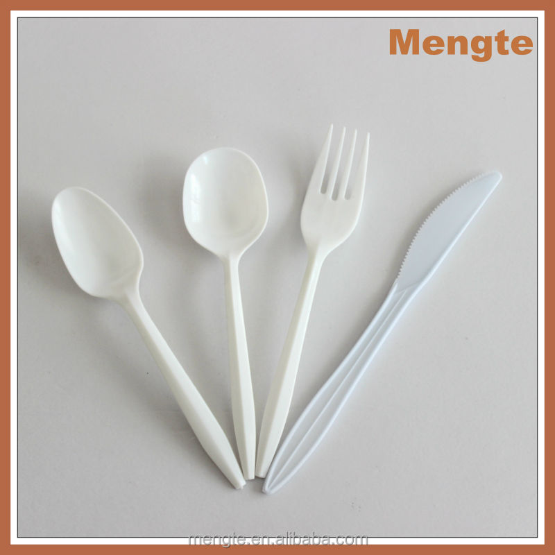 Mengte PP Cutlery Set, FDA & SGS Certified, Hot Sale Cutlery Set