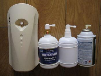 Automatic Non Aerosol Dispenser With Refillable Air