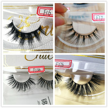 luxury custom eyelash packaging with logo hot selling models handmade natural cross mink lashes