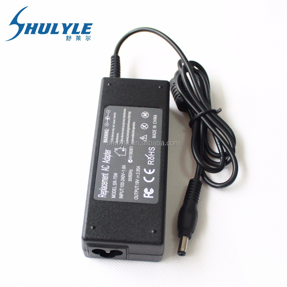 19V 3.95A 75W 5.5*2.5MM power plug laptop for laptop toshiba