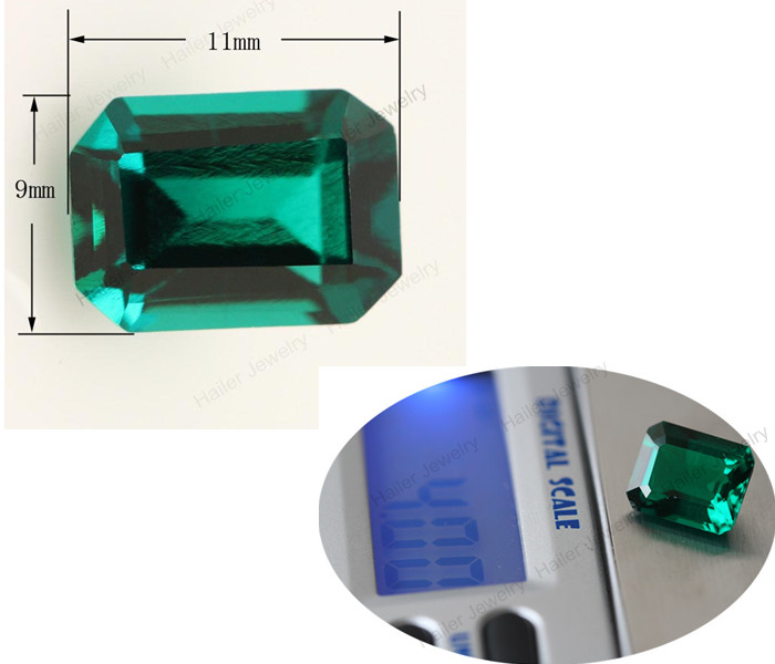 Lab Created Inclusion Rough Colombian Emerald