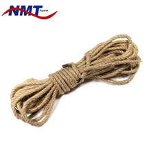 factory wholesale eco-friendly 3 strand natural twisted hemp marine rope
