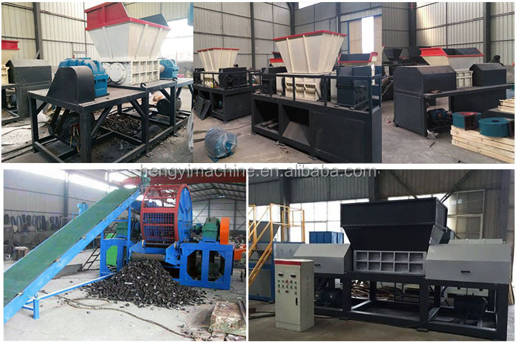 waste paper book shredder machine/Car tyre oil filter recycling machinery