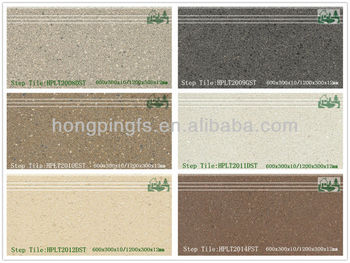 Exterior Anti Slip Porcelain Tiles For Stair Tread And Riser 60x30cm