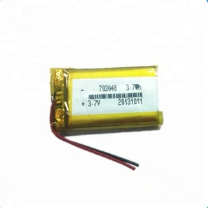 Customized 3.7V 703048 1000mAh li-polymer battery with high quality