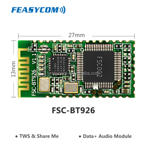 Low price 4.0 bluetooth audio module for TWS solution
