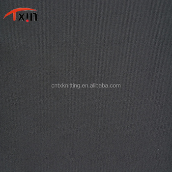 UV+ 100 polyester tricot brushed fabric for dress and felt outdoor sportswear fabric