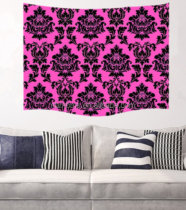 Modern Designs Fashionable Polyester Hanging Wall Tapestry