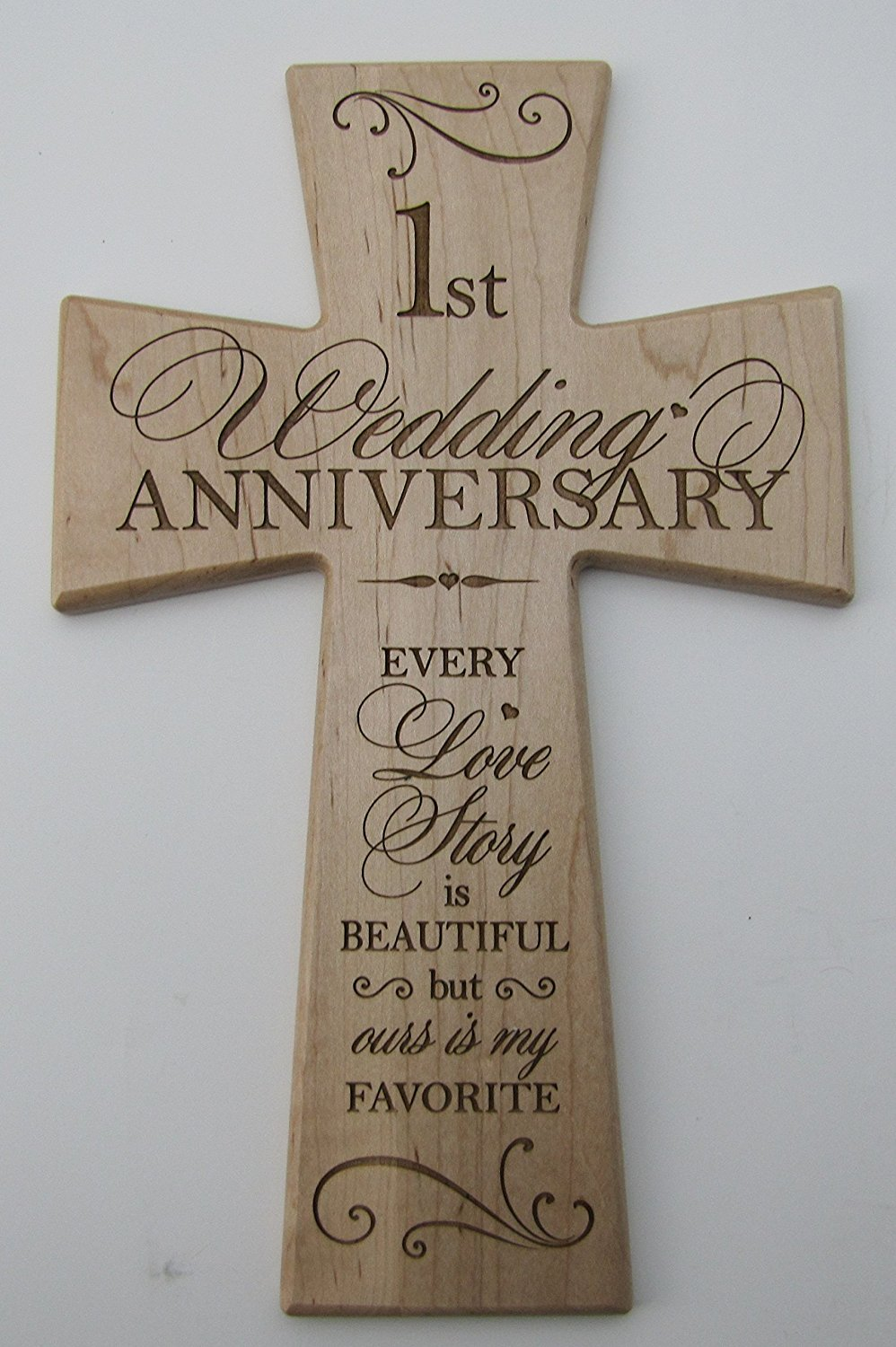 1 Year Wedding Anniversary Gifts For Her.1st Wedding Anniversary Gift For Her 1st Wedding Anniversary Maple