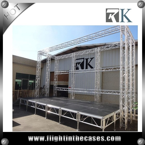 Hot Newest Designed outdoor concert stage sale mobile stage event stage