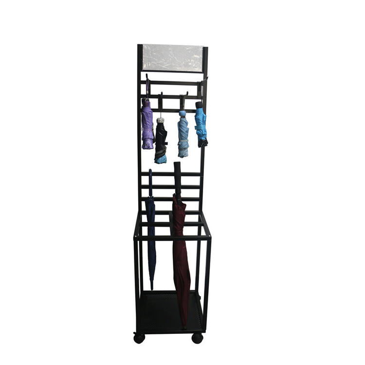 Wire Department Store Umbrella Spinner Dry Goods Display Rack
