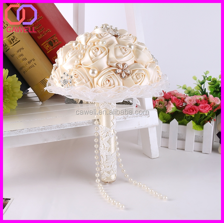 European Style Wedding Room Decoration Bridal Bouquet Purple Silk Flowers Bouquets Blue Artificial Flower