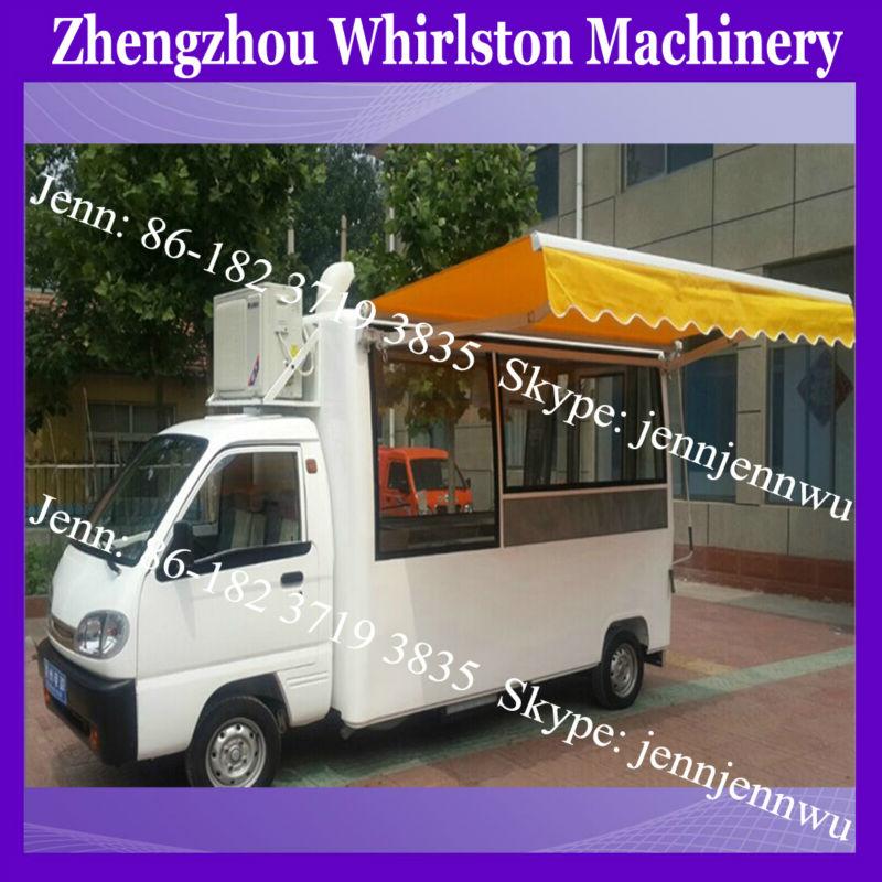 Mini Bus Type Food Car Mobile Coffee Food Truck Electric