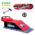 Skate Park Ramp Parts for Tech Deck Fingerboard Finger Board D